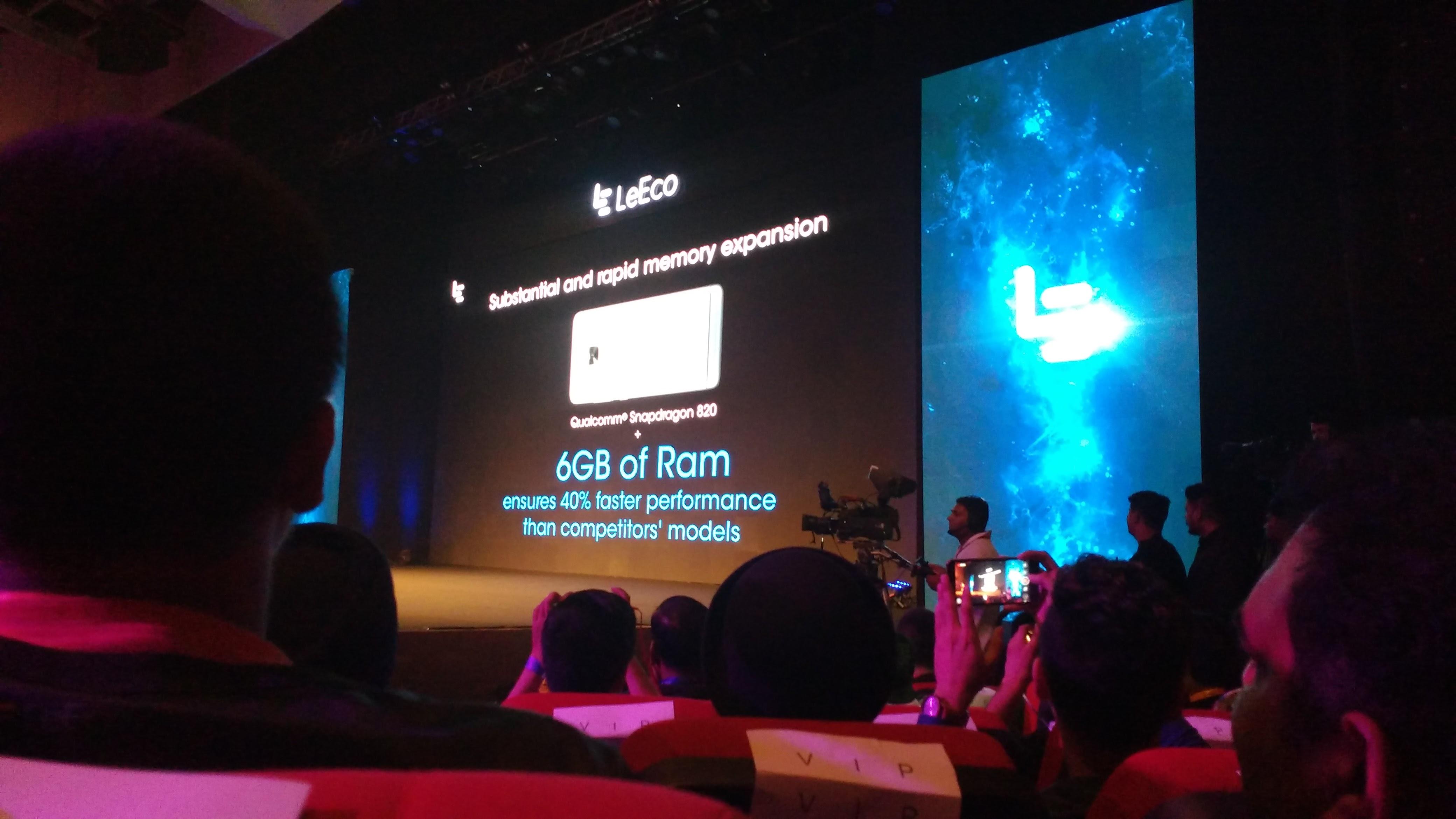 LeEco Delhi Event